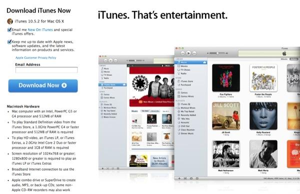 itunes 10.5 free  for windows xp 32 bit