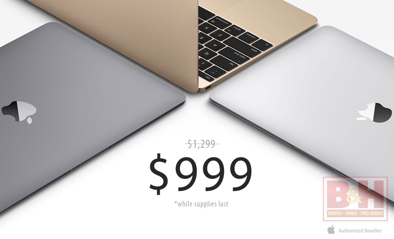 Lowest prices ever 12 macbooks for 999 300 350 off for Apple book 300