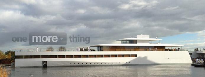 Steve Jobs' Apple inspired super yacht revealed in Netherlands