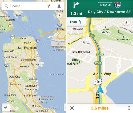 Official Google Maps iOS app released for iPhone and iPad