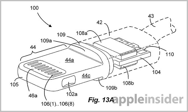 Apples Lightning Connector Finally Detailed In Patent Filing on apple 30 pin wiring diagram