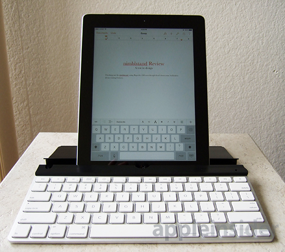 how to connect apple wireless keyboard to ipad