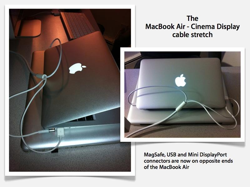 how to connect a macbook air 13 inch the chromecast