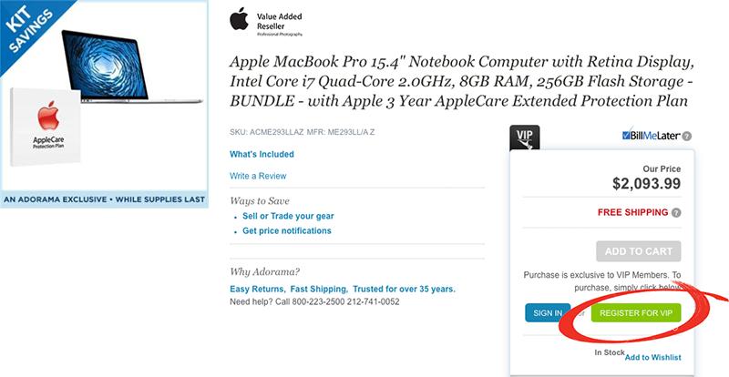 Select a Mac