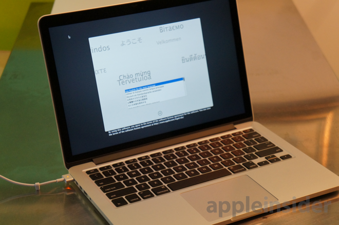 "Test du MacBook Pro Retina 13"" mi-2014 