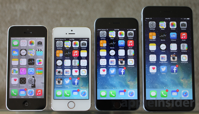 iPhone 5c, 5s, 6, 6 Plus