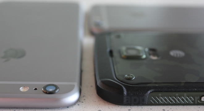 Samsung Galaxy S5 Active Bulge