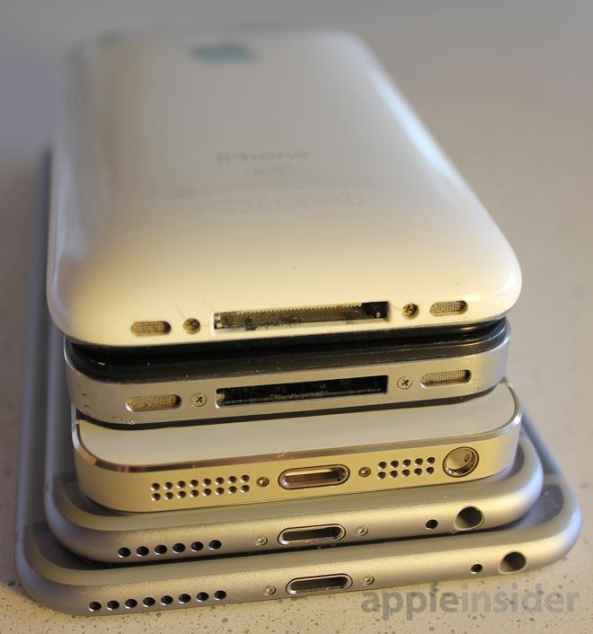 iPhone family