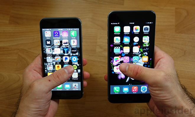 """Going big: a review of Apple's new 4.7"""" iPhone 6 vs. the 5 ..."""