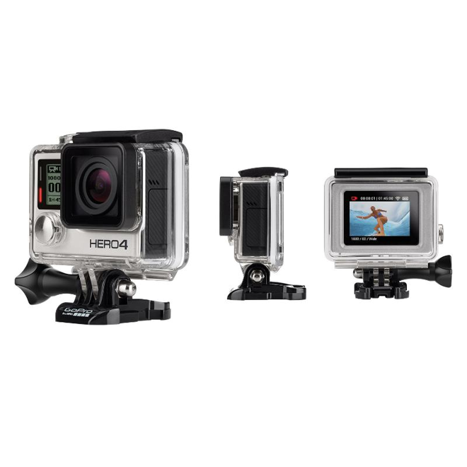 Gopro 39 s new iphone connected hero4 wearable camera - Camera connectee iphone ...
