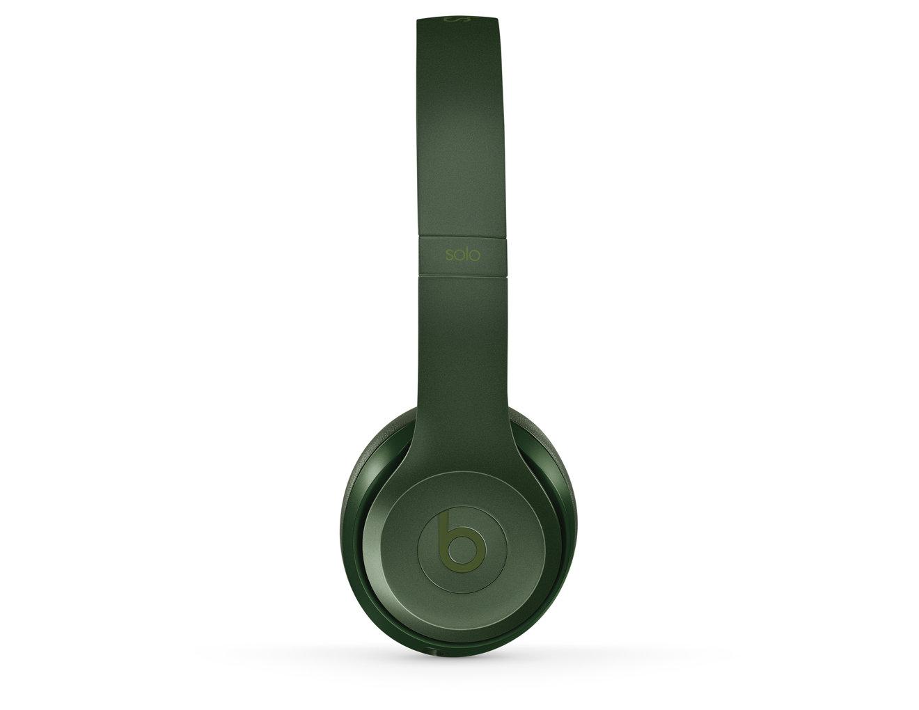 Beats wireless headphones hunter green - headphones green p470