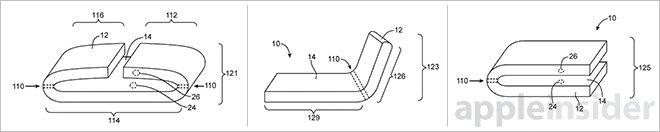 Apple získal patent na pružná zařízení ovládaná ohybem