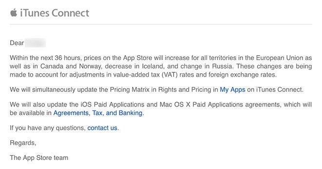 Apple zvedá ceny v App Store ve všech zemích EU!