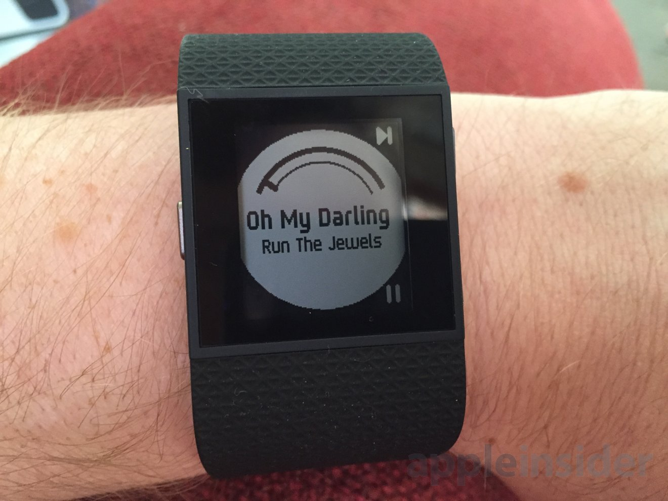 First look: Fitbit Surge, a fitness tracking, heart rate ...