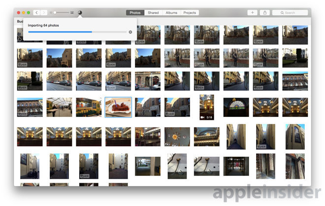 how to delete photos from iphoto library on macbook