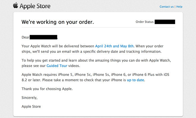 how to get apple to send you a new iphone
