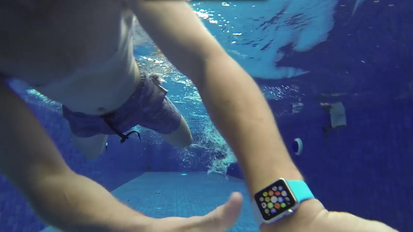 reviewers try to destroy apple watch in the shower and swimming pool ultimately fail