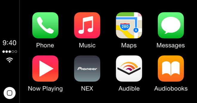 Audible enables carplay support mercedes benz prepares for Mercedes benz app for iphone