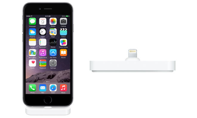 Apple Adds New Lightning Dock For IPhone 6 6 Plus