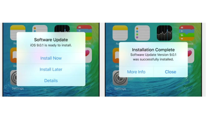 how to add up next ios 10