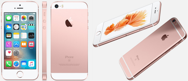 display iphone se vs 6s