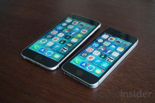 iphone se vs 6s performance