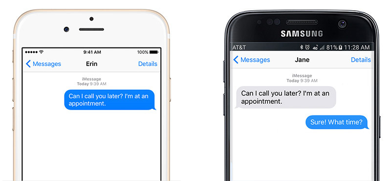 Rumor: Apple has made mockups of iMessage for Android with 'Material Design'