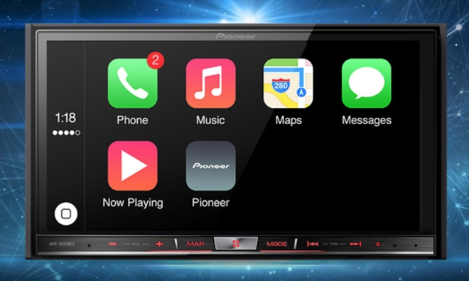 Beautiful Pioneer Announces First Aftermarket Apple CarPlay Systems
