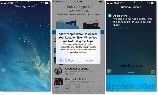 how to send location on iphone ios 8