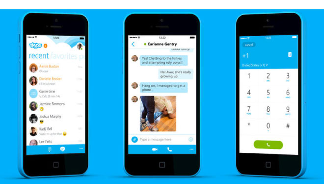 Skype 5.2 for iPhone Brings Back Voice Messaging Support and ...