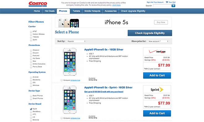 Iphone  Plus Deals Costco