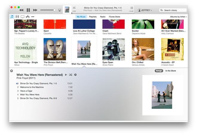 Full iTunes screenshot