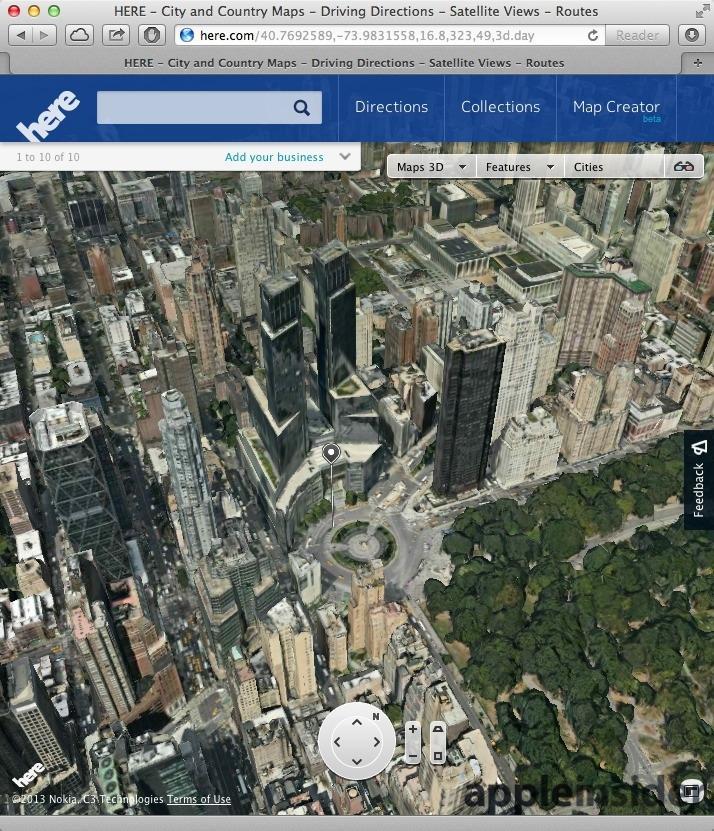 Apple's iOS 7 3D Maps leave Google Earth, Nokia Maps 3D ...