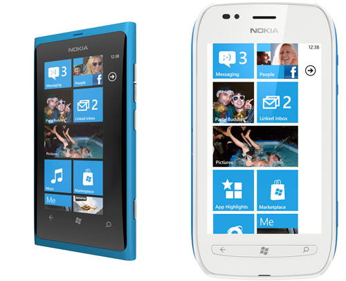 Nokia Windows Phone 7 Lumia 800 Vs Apple Iphone 4s