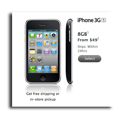 iphone 5 price at t apple follows at amp t drops official us iphone 3gs price to 49 7566