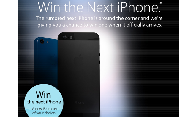 apple iphone contest contest win apple s next iphone amp a new iskin of 7503