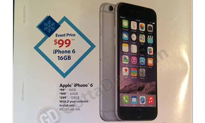 iphones for sale no contract sam s club to sell apple s iphone 6 from 99 on nov 15 6194