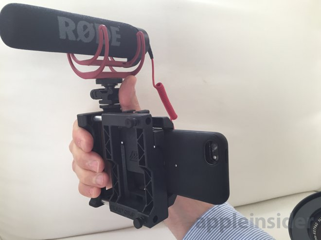 iphone camera lens attachment look beastgrip pro lens adapter platform for apple 2188