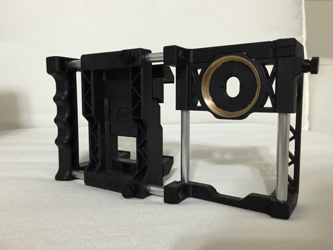 iphone lens adapter look beastgrip pro lens adapter platform for apple 9608