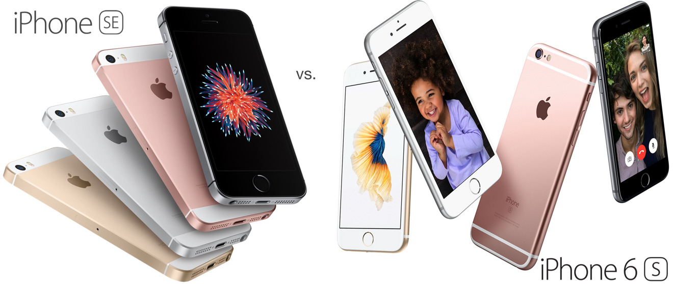 the new iphone apple s iphone se vs iphone 6s does price outweigh size 13098