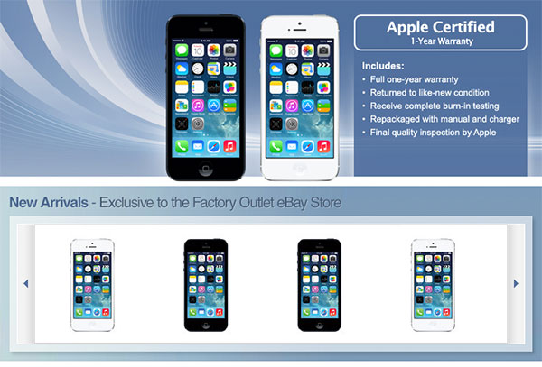 used iphone 5s unlocked apple s second secret ebay launches with certified 3355